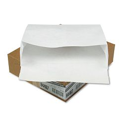 "Tyvek Expansion Mailer 12"" x 16"" x 4 White 18 Lb. 50Carton (QUAR4497)"