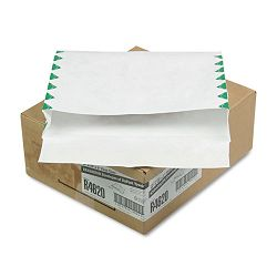 "Tyvek Booklet Expansion Mailer First Class 10"" x 13"" x 2"" White Carton of 100 (QUAR4620)"