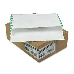 "Tyvek Booklet Expansion Mailer First Class 10"" x 15 x 2"" White Carton of 100 (QUAR4640)"