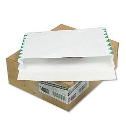 "Tyvek Booklet Expansion Mailer First Class 12"" x 16"" x 2"" White Carton of 100 (QUAR4660)"