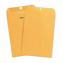 "Kraft Clasp Envelope Side Seam 28 Lb. 7-12"" x 10-12"" Light Brown Box of 100 (UNV35262)"