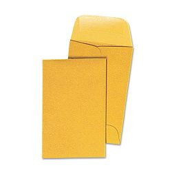 Kraft Coin Envelope #1 Light Brown Box of 500 (UNV35300)