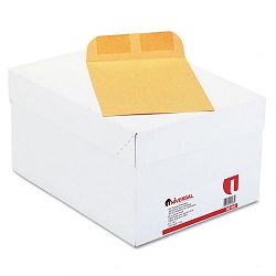 "Catalog Envelope Side Seam 6-12"" x 9-12"" Light Brown Box of 500 (UNV40165)"