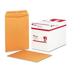 "Catalog Envelope Center Seam 9"" x 12"" Light Brown Box of 250 (UNV41105)"