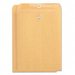 "Kraft Clasp Envelope Side Seam 32 Lb. 9"" x 12"" Light Brown Box of 100 (UNV41907)"