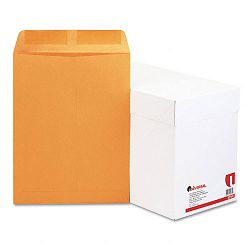 "Catalog Envelope Side Seam 9-12"" x 12-12"" Light Brown Box of 250 (UNV42165)"