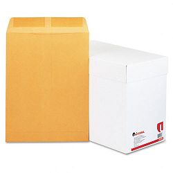 "Catalog Envelope Side Seam 10"" x 13"" Light Brown Box of 250 (UNV44165)"