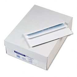 Self-Seal Business Envelopes with Security Tint Side Seam #10 White Box of 500 (WEVCO296)