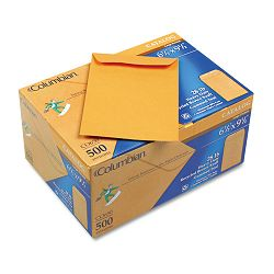 "Catalog Envelope Open End 6-12"" x 9-12"" 28 Lb. Kraft Box of 100 (WEVCO650)"