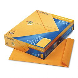 "All-Purpose Catalog Envelope Center Seam 10"" x 13"" Light Brown Box of 100 (WEVCO681)"