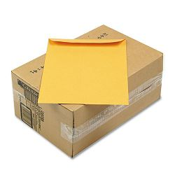 "Self-Seal All-Purpose Catalog Envelope 9"" x 12"" Brown Carton of 250 (WEVCO733)"
