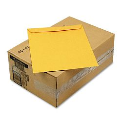 "Self-Seal All-Purpose Catalog Envelope 10"" x 13"" Brown Carton of 250 (WEVCO736)"
