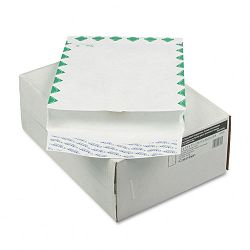 "Tyvek Grip-Seal Open End 1-12"" Expansion Envelope1st Class 10"" x 13"" Box of 100 (WEVCO813)"