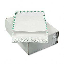 "Tyvek Grip-Seal Open-End 2"" Expansion Envelopes1st Class 12"" x 16"" Box of 100 (WEVCO815)"