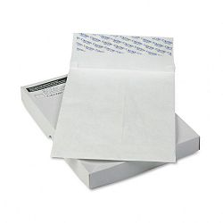 "Tyvek Grip-Seal Open End 1-12"" Expansion Envelopes 10"" x 13""x1-12 Box of 25 (WEVCO822)"