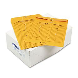 "Re-Use-A-Seal Interoffice Envelope Kraft 10"" x 13"" 28 Lb. Box of 100 (WEVCO882)"