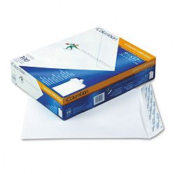 "Grip-Seal Catalog Envelopes 9-12"" x 12-12"" 28 Lb. White Wove Box of 100 (WEVCO924)"