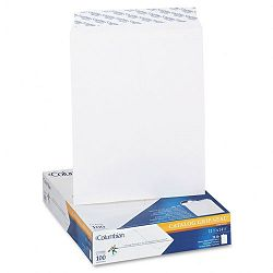 "Grip-Seal Catalog Envelopes 11-12"" x 14-12"" 28 Lb. White Wove Box of 100 (WEVCO928)"