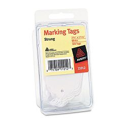 "Marking Tags 2-34"" x 1-1116"" White Pack of 100 (AVE11012)"