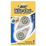 "Wite-Out EZ Refill Correction Tape Refills 316"" (BICRWOTRP21)"