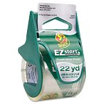 "EZ Start Carton Sealing TapeDispenser 1.88"" x 22.2 yards 1-12"" Core (DUC07307)"