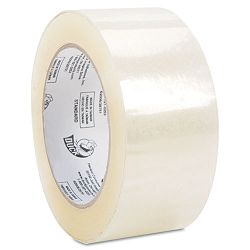 "High-Performance Carton Sealing Tape 1.88"" x 109.3 yards 3"" Core Clear (DUC1377393)"
