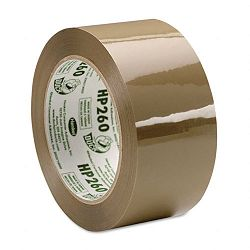 "Carton Sealing Tape 1.88"" x 60 yards 3"" Core Tan (DUCHP260T)"