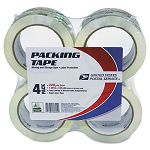 "Moving & Storage Tape 2"" x 55 yards 3"" Core Clear Pack of 4 (LEP82304)"
