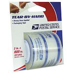 "Tear-By-Hand Packaging Tape 2"" x 800"" Clear (LEP83726)"