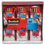 "3850 Heavy Duty Packaging Tape in Sure Start Dispenser 2"" x 22.2 yds Clear Box of 6 (MMM1426)"