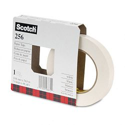 "256 Printable Flatback Paper Tape 34"" x 60 yards 3"" Core 48Box (MMM25634)"