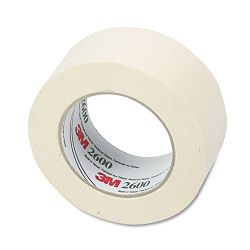 "Economy Masking Tape 2"" x 60 yards 3"" Core Cream (MMM260048A)"