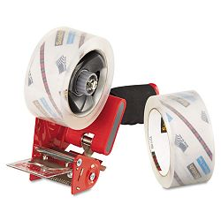 "Packaging Tape Dispenser with 2 Rolls of Tape 1.88"" x 54.6 yards (MMM37502ST)"