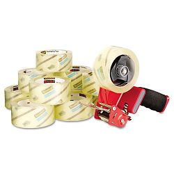 "Commercial Grade Packaging Tape 1.88"" x 54.6 yds 3"" Core Clear 36Carton (MMM3750CS36ST)"