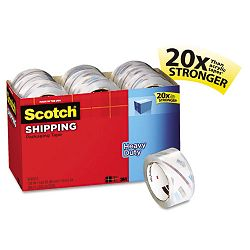 "3850 Heavy Duty Packaging Tape Cabinet Pack 1.88"" x 54.6 yds 18 Rolls (MMM385018CP)"