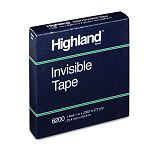 "Invisible Tape 1"" x 2592"" 3"" Core (MMM620025921)"
