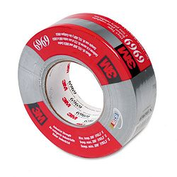 "Poly-Coated Cloth Duct Tape for HVAC 1.88"" x 60 yards 3"" Core Silver (MMM69692)"