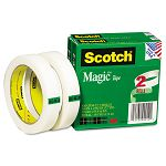 "Magic Tape 34"" x 2592"" 3"" Core 2 Rolls (MMM8102P3472)"