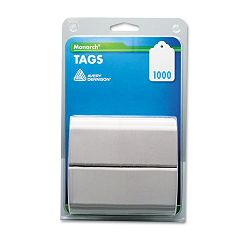 "Refill Tags 1-14"" x 1-12"" White Pack of 1000 (MNK925047)"