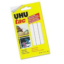Tac Adhesive Putty RemovableReusable Nontoxic 2.12 ozPack (SAU99683)
