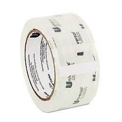 "Heavy-Duty Box Sealing Tape 2"" x 55 yards 3"" Core Clear (UNV31100)"