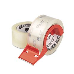 "Mailing & Storage Tape 2"" x 55 yards 3"" Core Clear Box of 2 (UNV31102)"