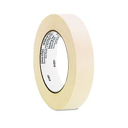 "General Purpose Masking Tape 1"" x 60 yards 3"" Core Pack of 3 (UNV51301)"