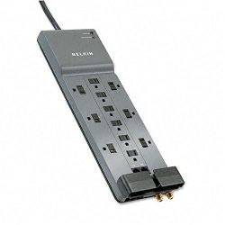 Professional Series SurgeMaster Surge Protector 12 Outlets 10ft Cord (BLKBE11223410)