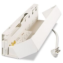 Concealed Surge Protector 11 Outlets 10ft Cord (BLKBZ11123410)