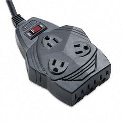Mighty 8 Surge Protector with PhoneFax Protect 8 Outlets 6ft Cord (FEL99091)