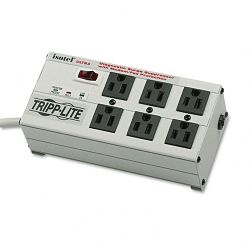 ISOTEL6ULTRA Isobar Surge Suppressor Metal RJ11 6 Outlet 6ft Cord 3330 Joules (TRPISOTEL6ULTRA)