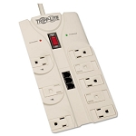 Protect It! Surge Supressor 8 Outlets 8ft Cord 2160 Joules TAA Compliant (TRPTLP808TELTAA)