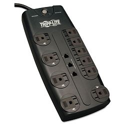 TLP1008TEL Surge Suppressor 10 Outlet RJ11 8ft Cord 2395 Joules (TRPTLP1008TEL)
