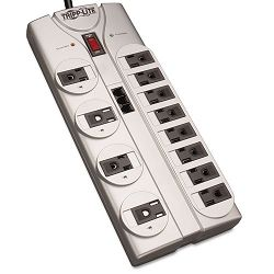 TLP1208TEL Surge Suppressor 12 Outlet RJ11 8ft Cord 2160 Joules (TRPTLP1208TEL)